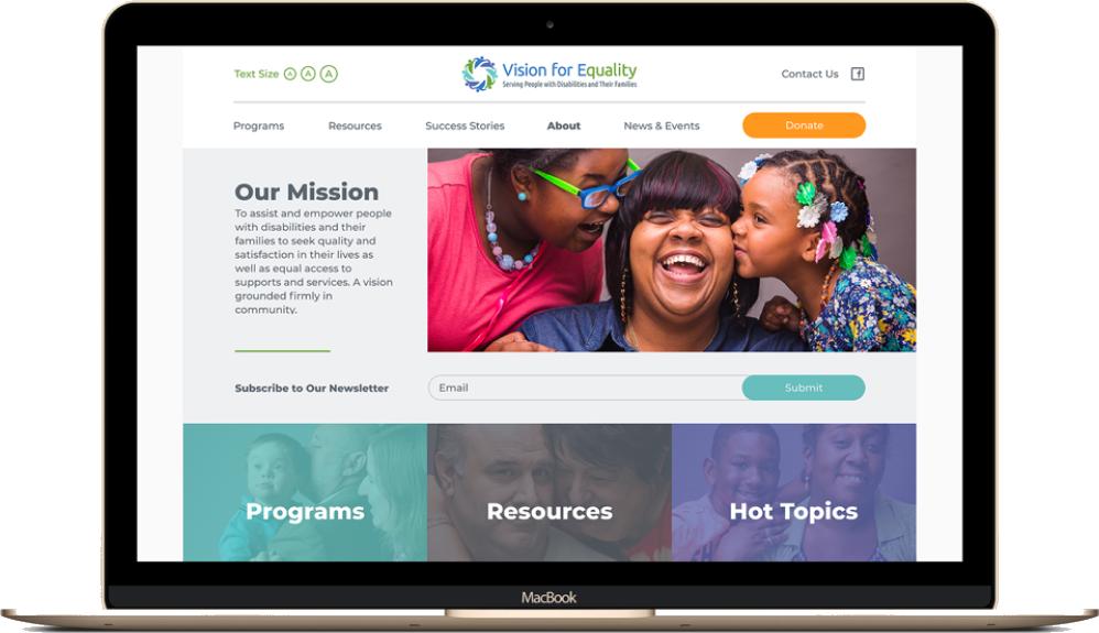 Women's Resource Center laptop